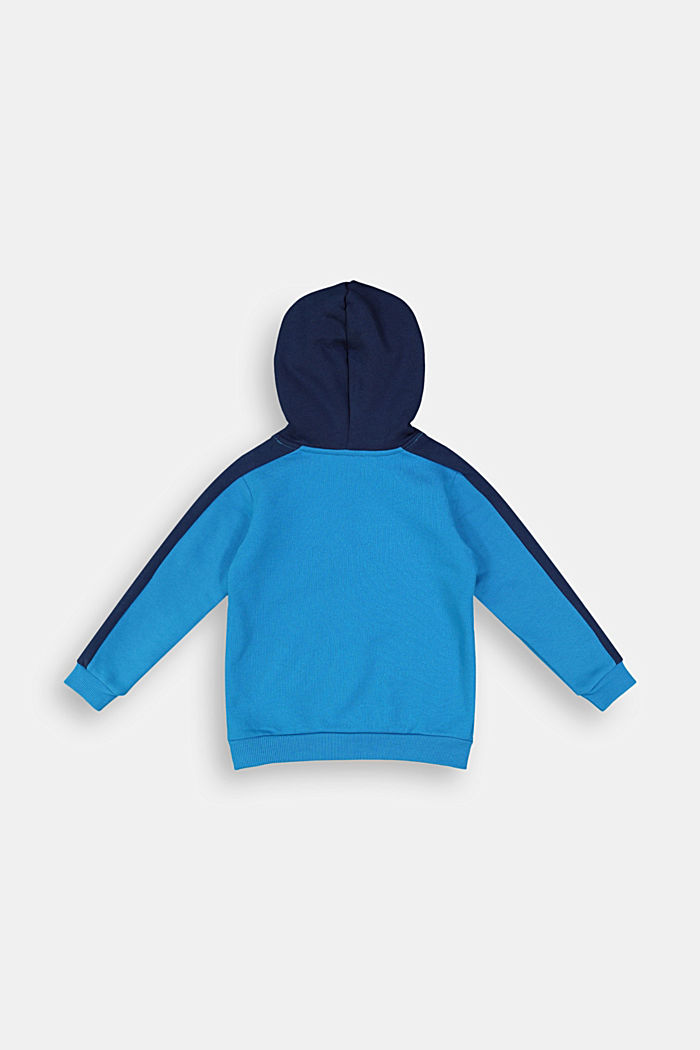 Sweatshirt hoodie in 100% cotton