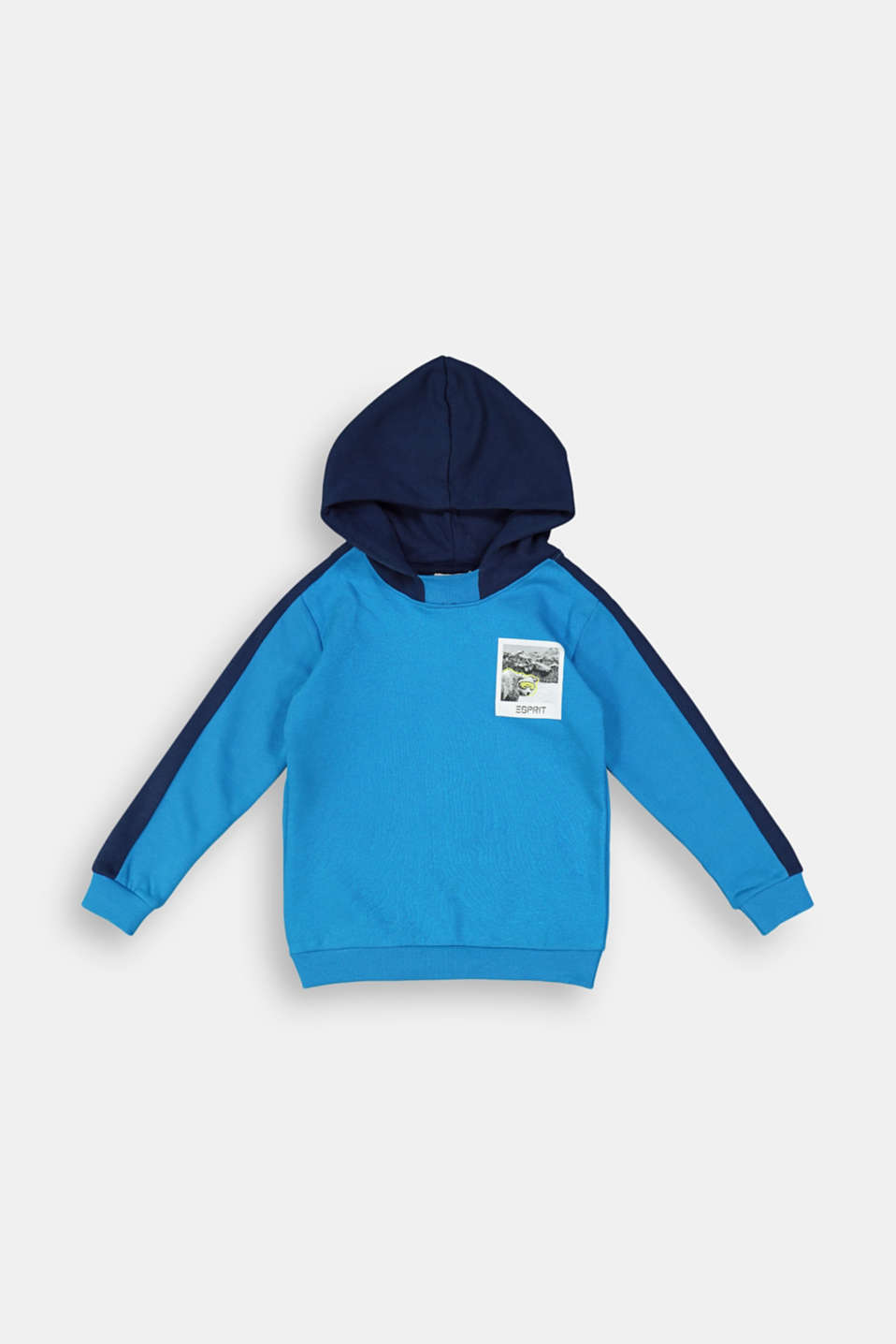 Esprit - Sweatshirt hoodie in 100% cotton