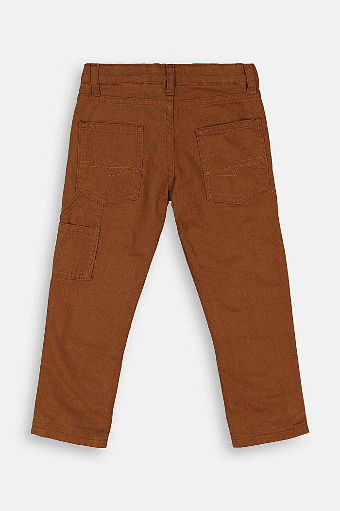 100% cotton cargo trousers