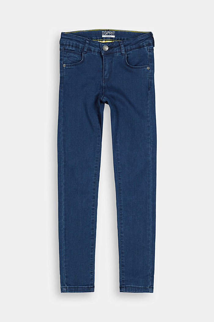 Skinny jeans with an adjustable waistband