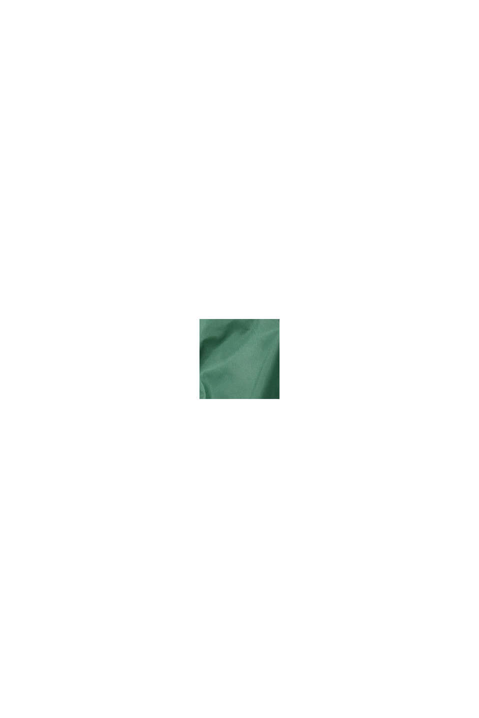 Quiltad jacka med huva och fleecefoder, FOREST, swatch