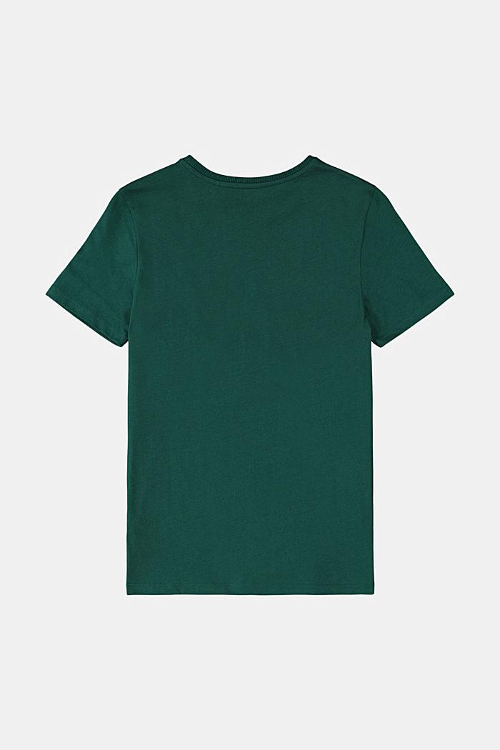 Logo print T-shirt in 100% cotton