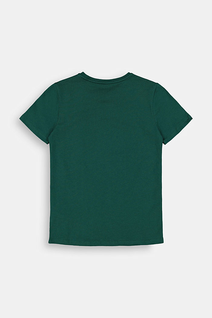 Jersey T-shirt in 100% cotton, FOREST, detail image number 1