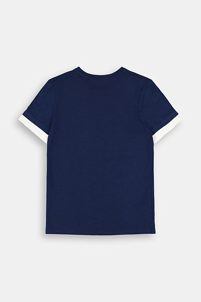 Jersey T-shirt in 100% cotton, INK, detail image number 1