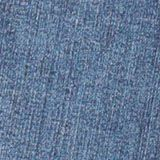 Washed Stretch-Jeans mit Verstellbund, BLUE DARK WASHED, swatch