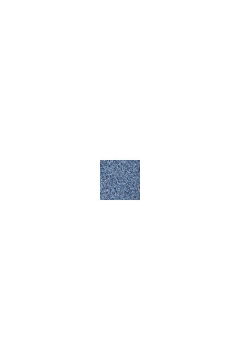 Jean stretch délavé à taille ajustable, BLUE DARK WASHED, swatch