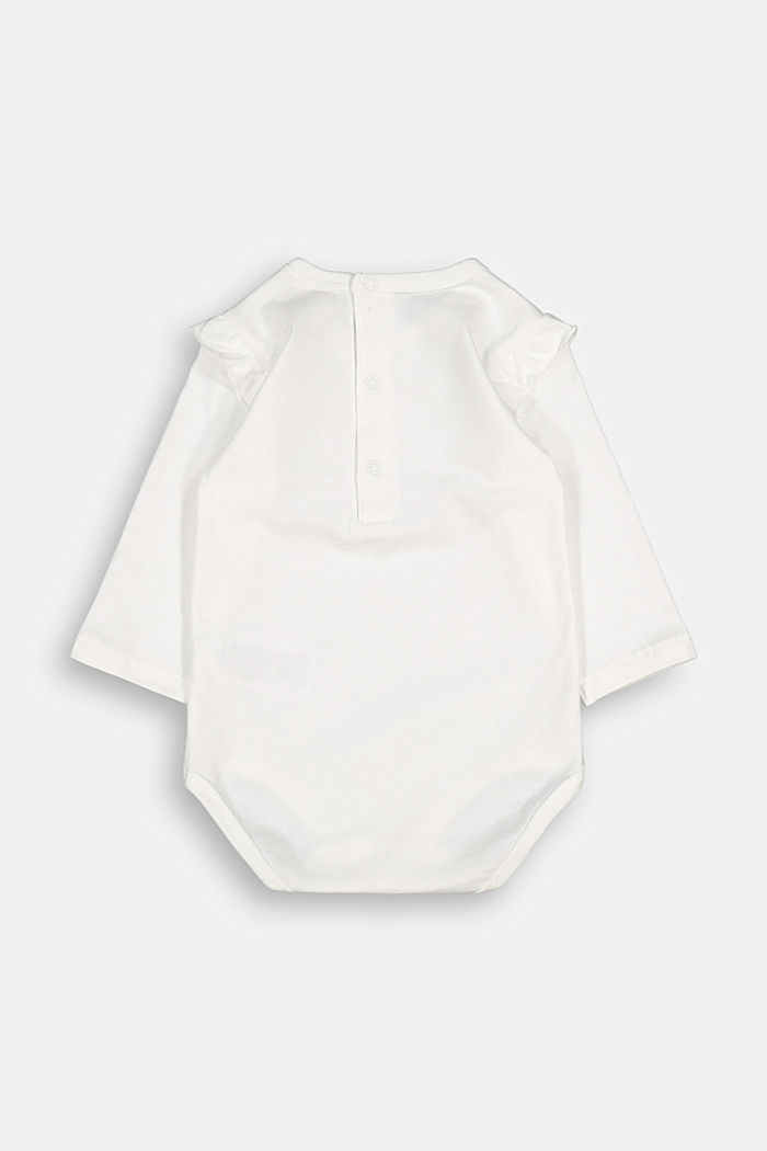Romper suit with organic cotton