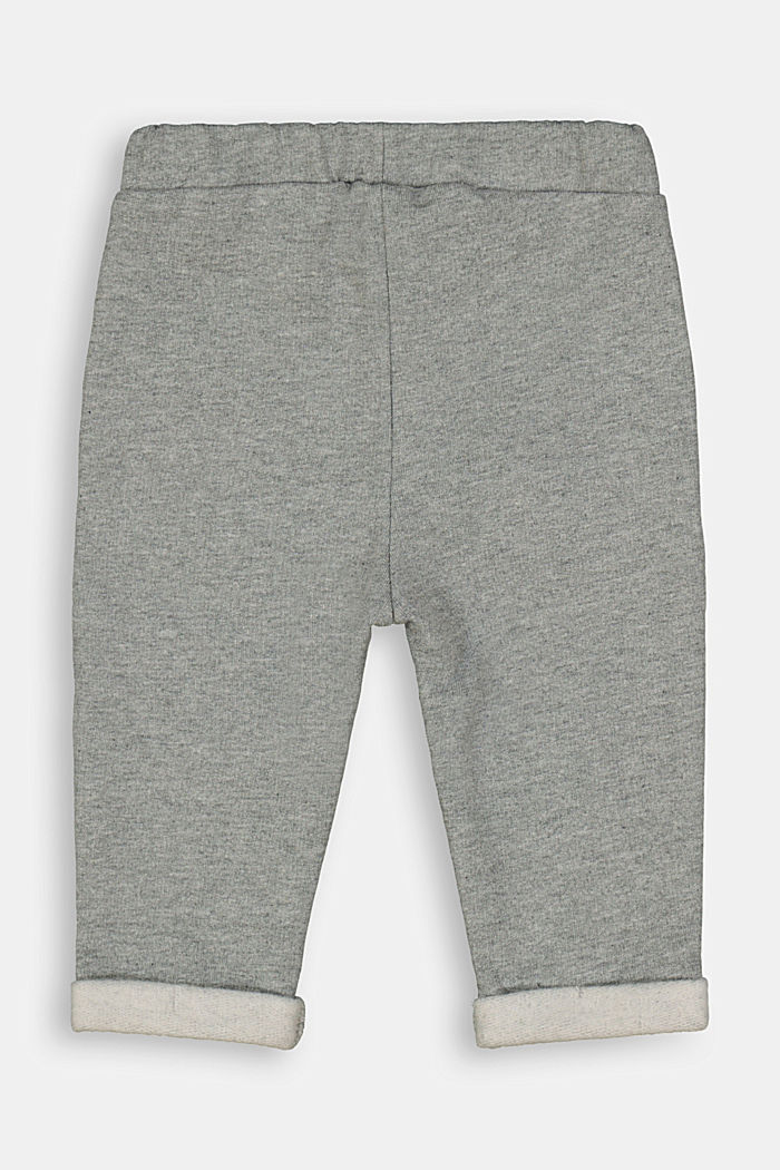 Tracksuit bottoms made of 100% organic cotton