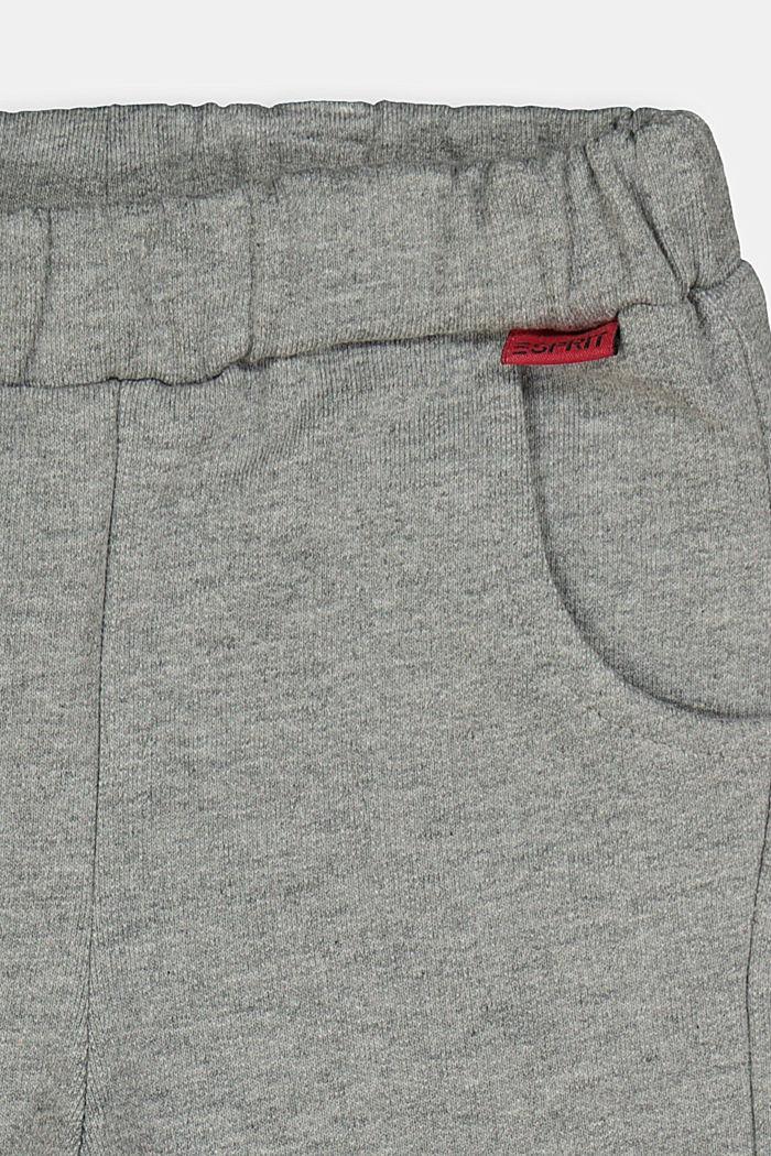 Joggpants aus 100% Organic Cotton, DARK GREY, detail image number 2