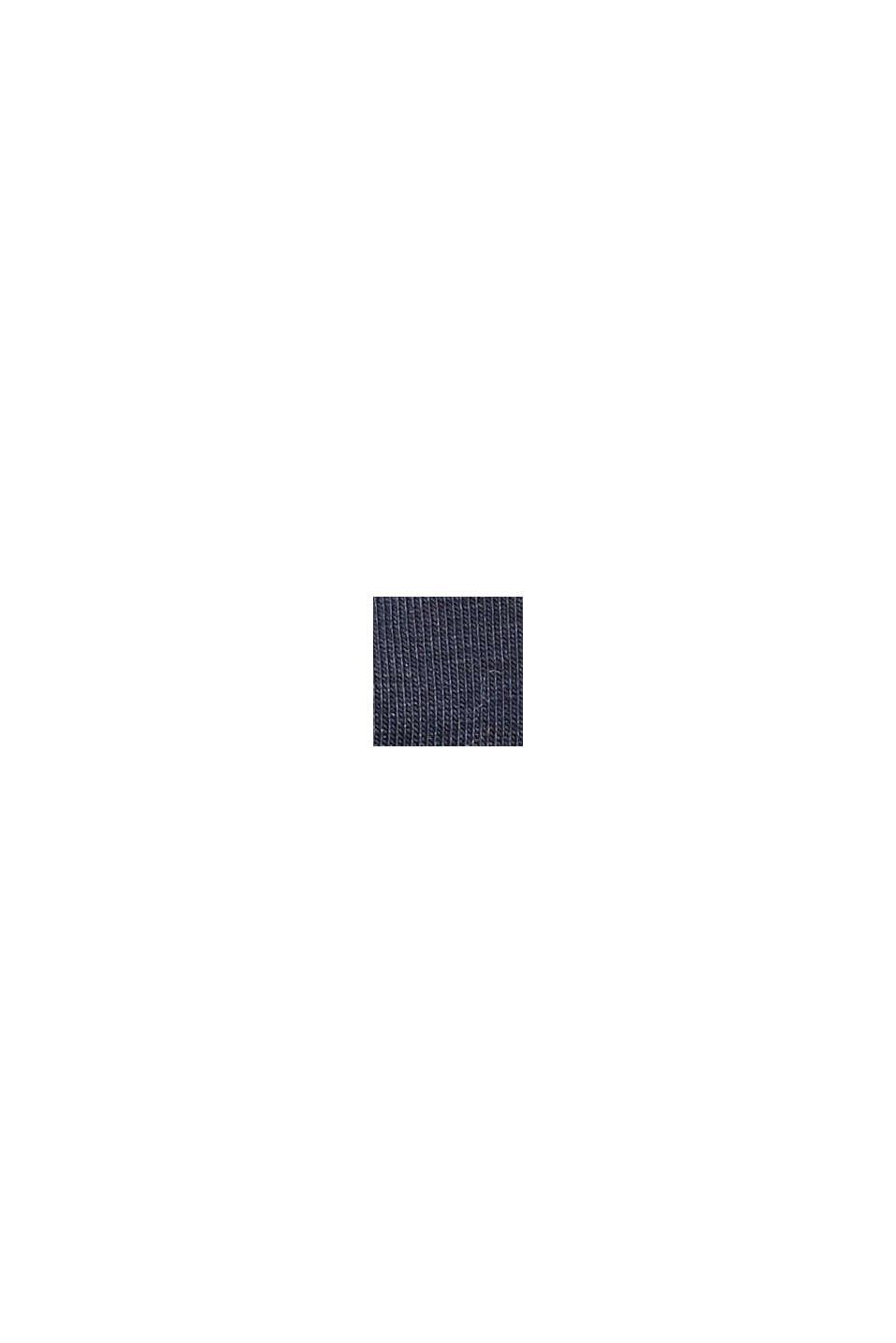 Bonnet en jersey de coton bio élastique, NAVY, swatch