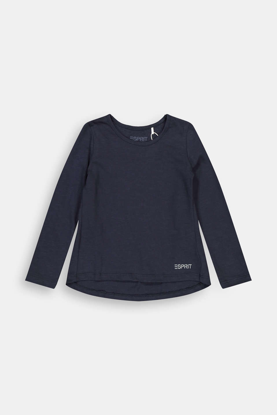 Esprit - Long sleeve top made of 100% cotton