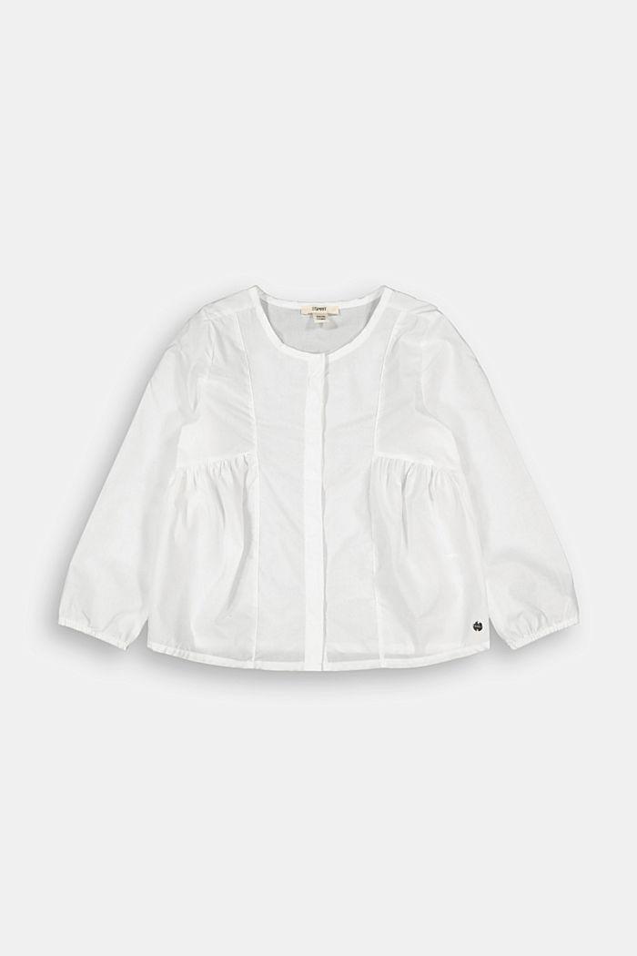 Bluse aus 100% Baumwolle