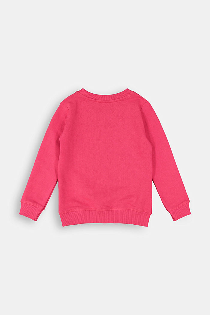 100% cotton jumper, DARK PINK, detail image number 1