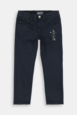 Pants woven, NAVY, detail