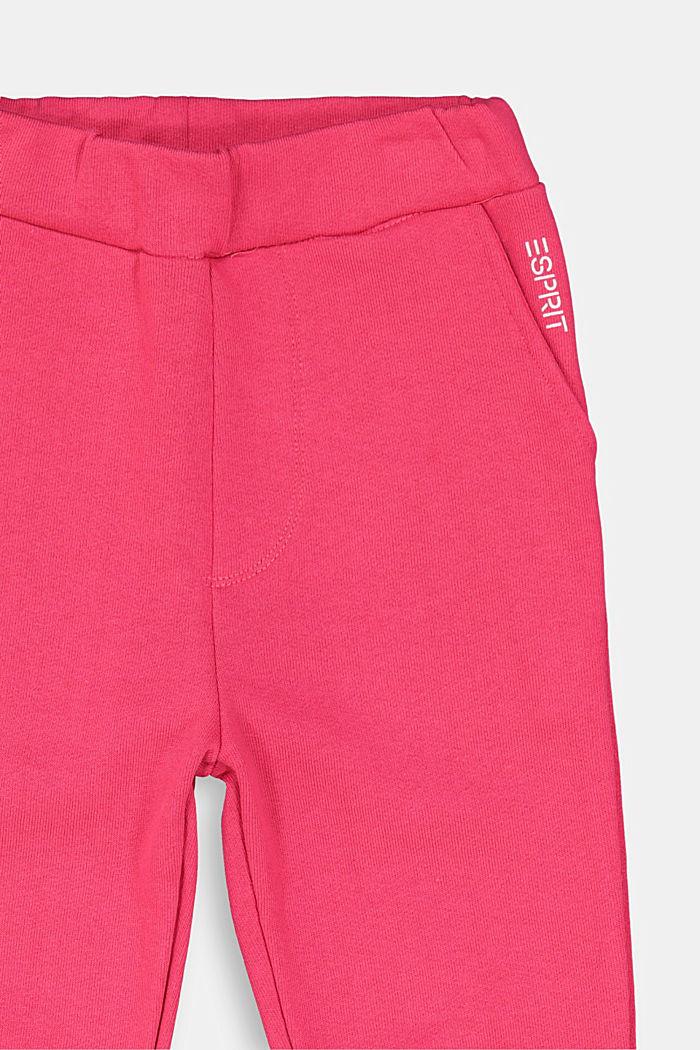 Sweatpants aus 100% Baumwolle, DARK PINK, detail image number 2