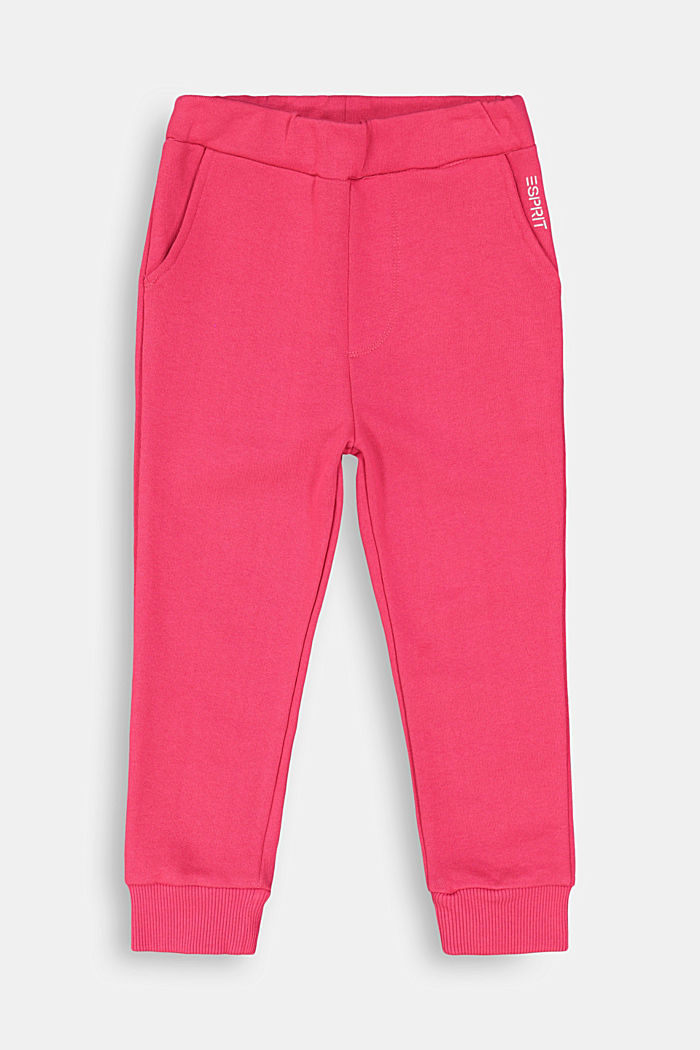 Sweatshirt tracksuit bottoms made of 100% cotton