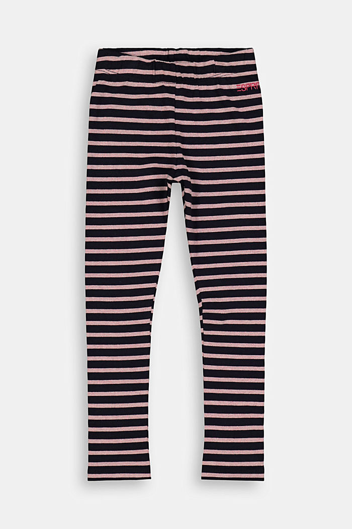 Leggings aus Organic Cotton, NAVY, detail image number 0