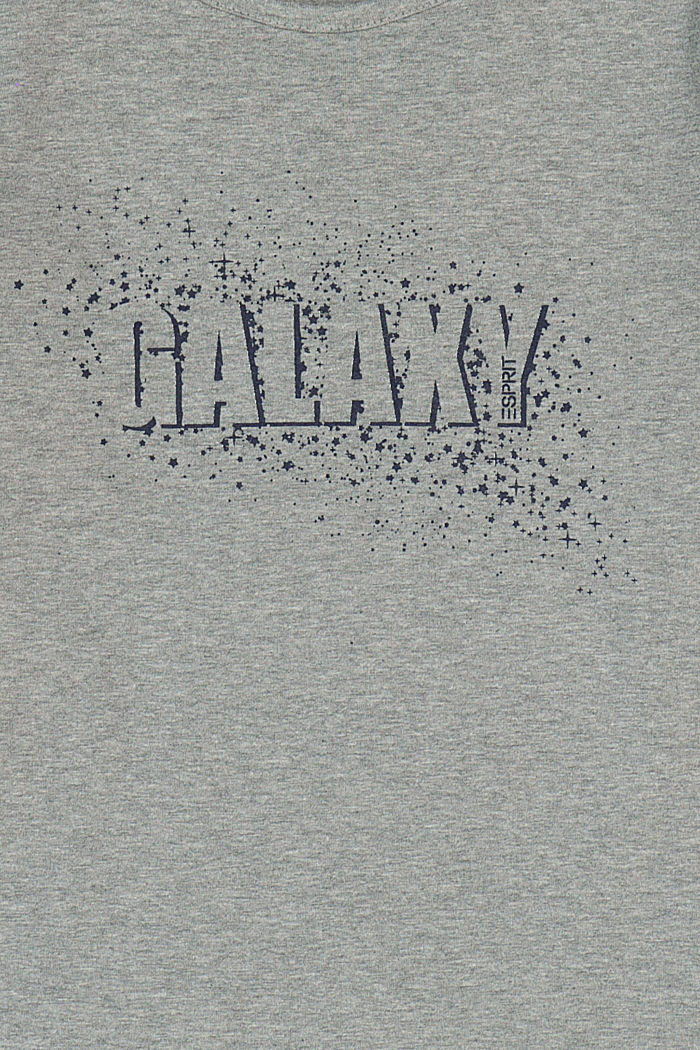Long sleeve shirt with printed lettering, DARK GREY, detail image number 2