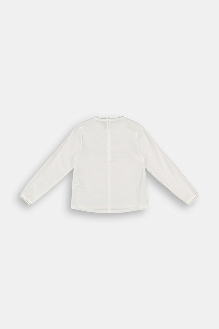 Bluse aus 100% Baumwolle, SKIN BEIGE, detail image number 1