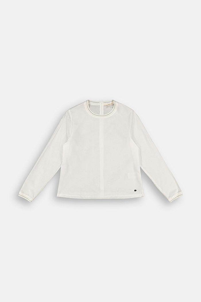 Bluse aus 100% Baumwolle, SKIN BEIGE, detail image number 0