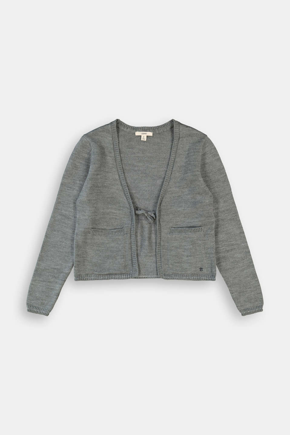 Esprit - Cardigan with glittering stripes
