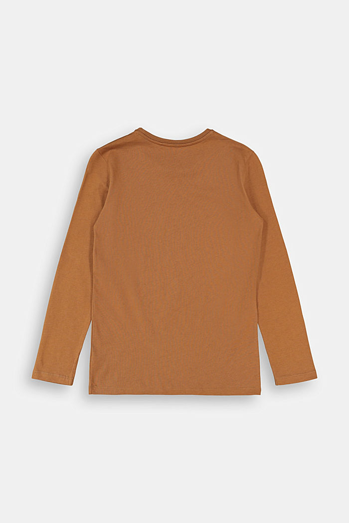 Longsleeve aus 100% Baumwolle