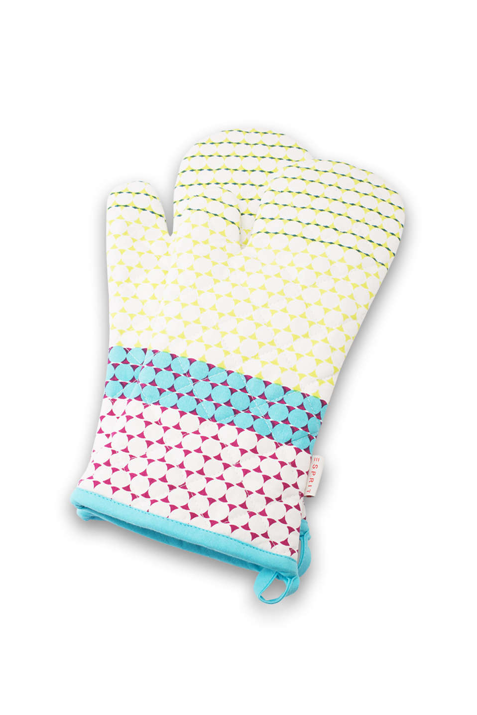 Esprit - Set of 2 Dotplay oven gloves