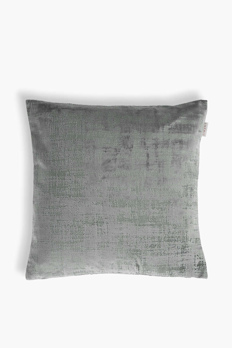 Esprit - Scratch cushion cover in velvet