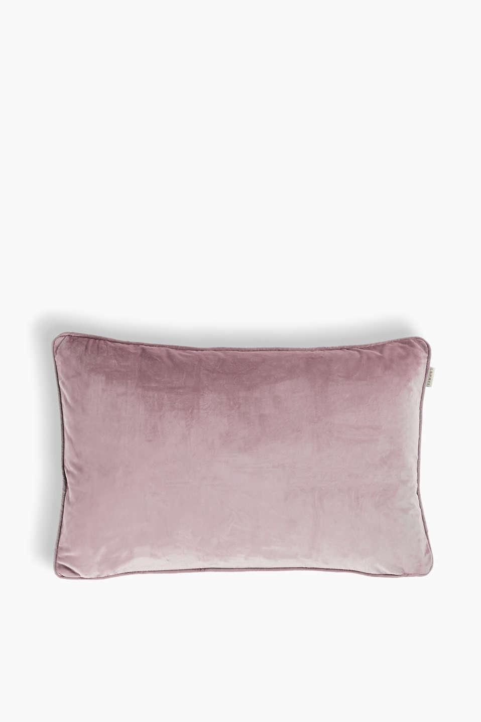 esprit housse de coussin cuddly velours l gant acheter sur la boutique en ligne. Black Bedroom Furniture Sets. Home Design Ideas