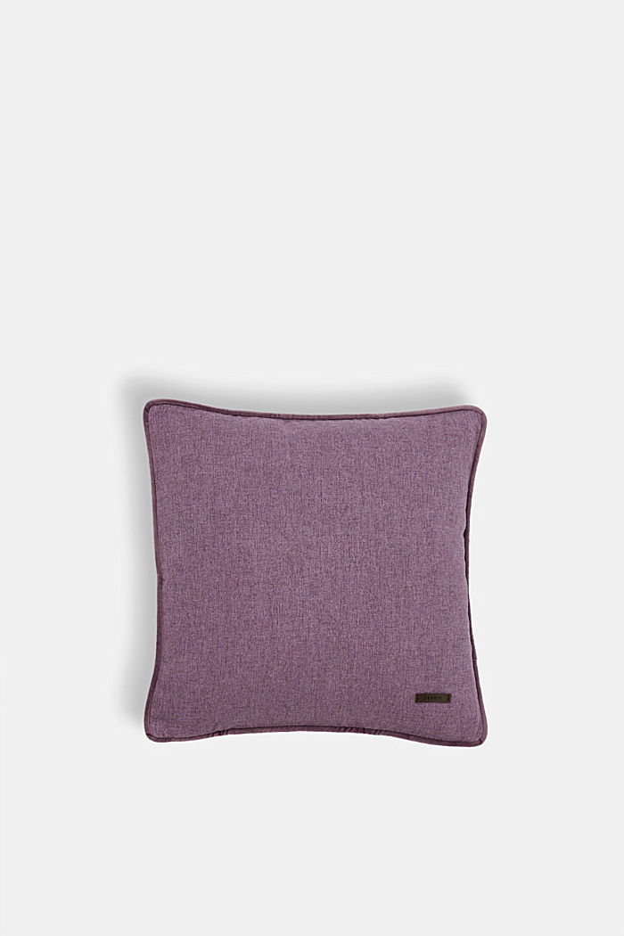 Cushion cover with velvet piping, LILAC, detail image number 0