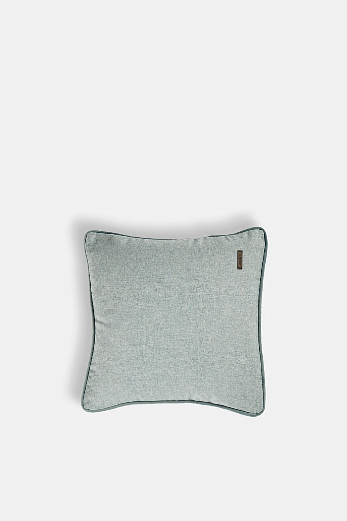 Cushion cover with velvet piping, BREEZE, detail image number 0
