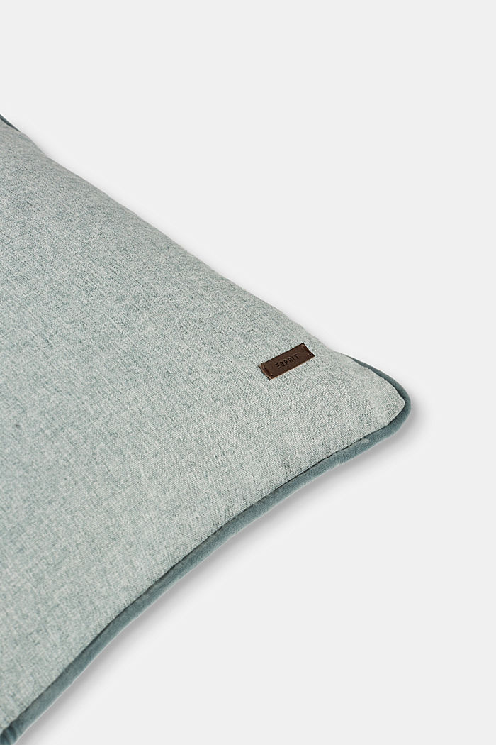 Cushion cover with velvet piping, BREEZE, detail image number 1