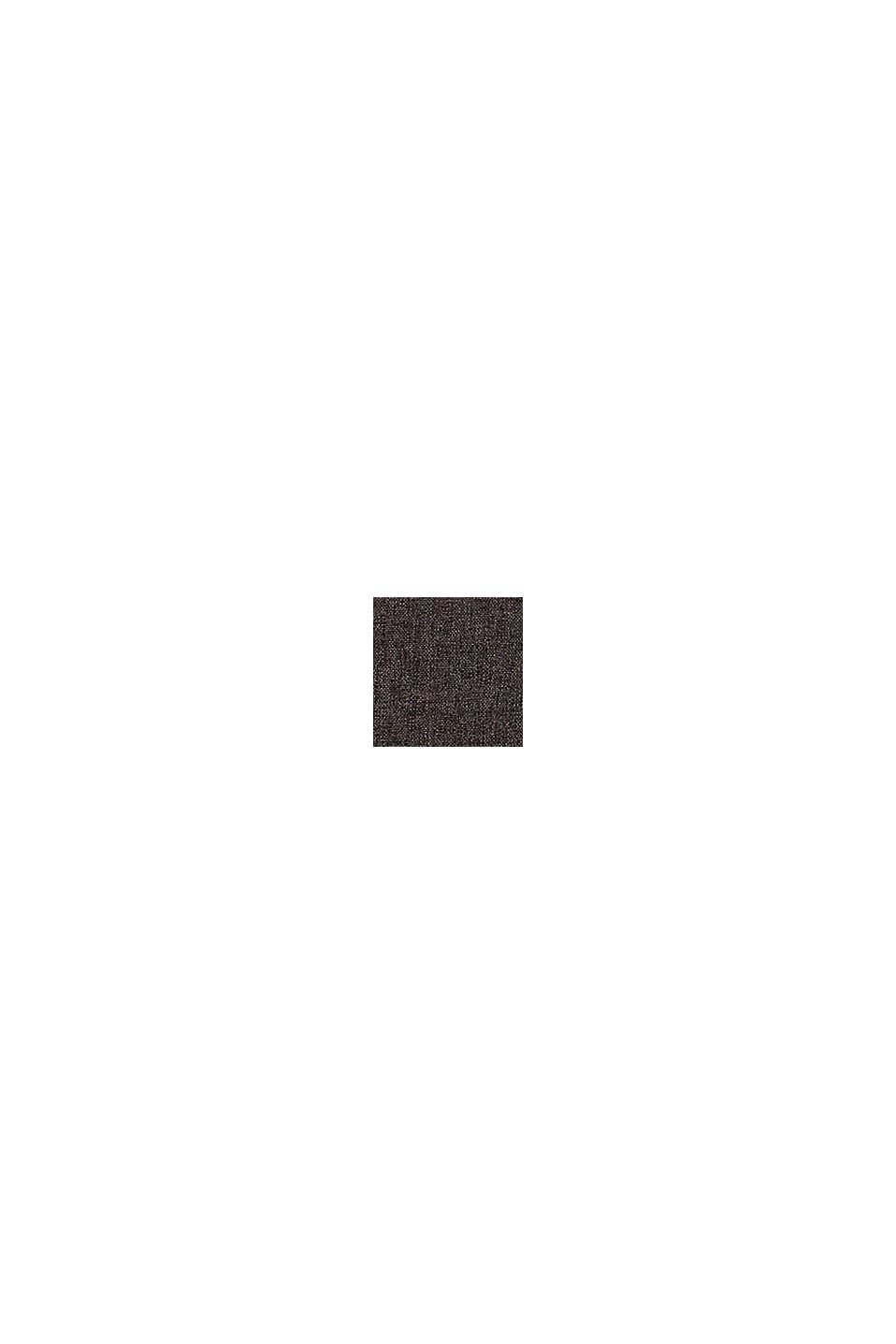Kissenhülle im Material-Mix mit Micro-Samt, DARK GREY, swatch