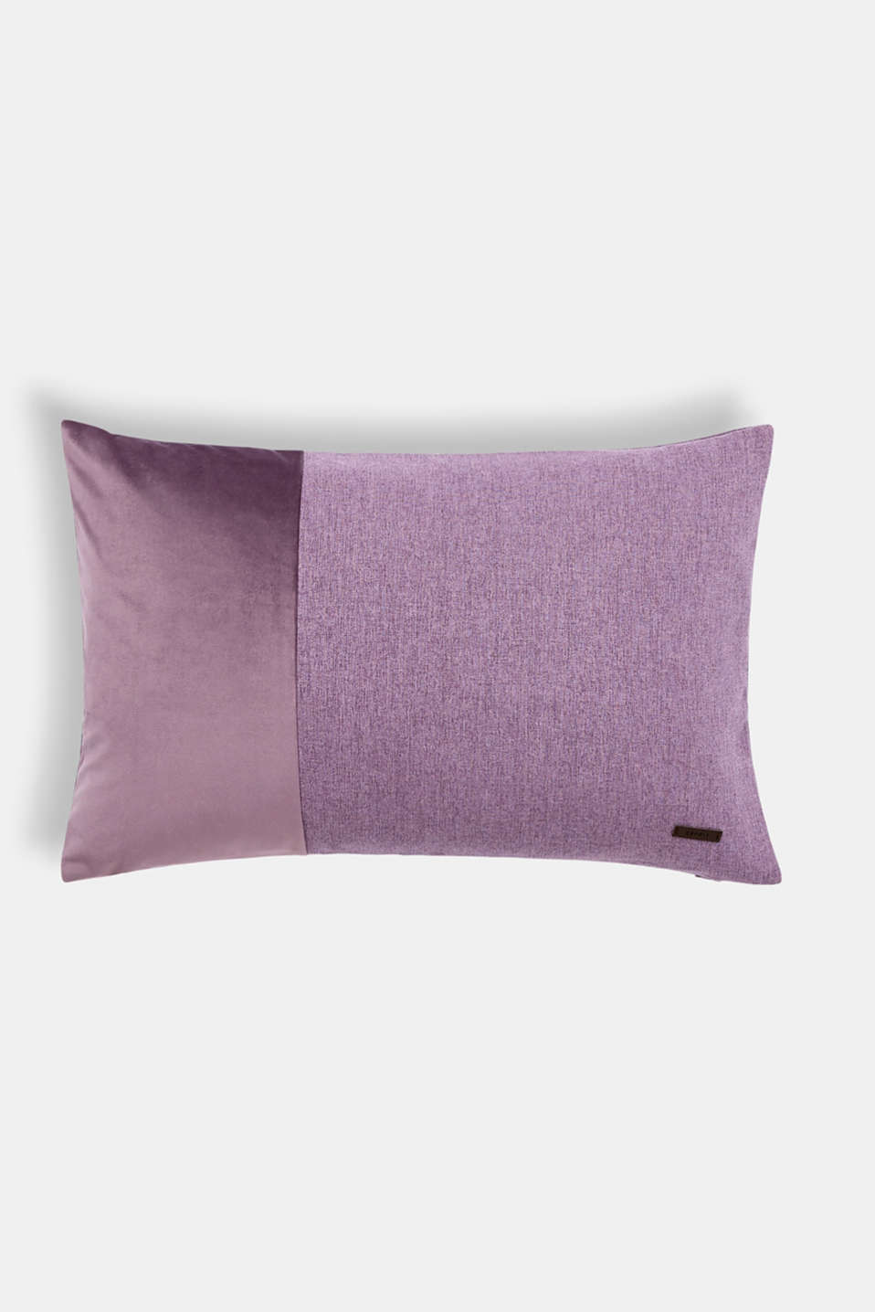 Esprit - Cushion cover with a velvet trim