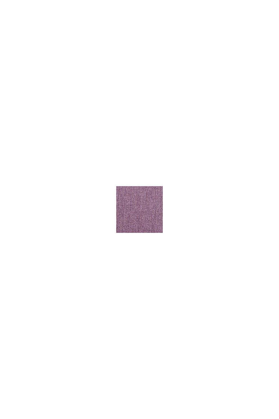 Poszewka na poduszkę z różnych materiałów z mikroaksamitu, LILAC, swatch