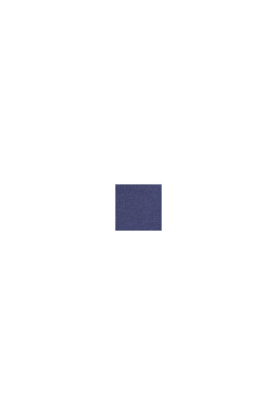 Poszewka na poduszkę z różnych materiałów z mikroaksamitu, NAVY, swatch