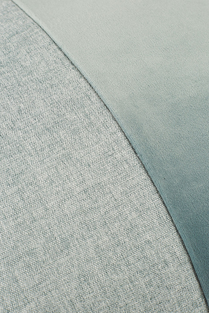 Kissenhülle im Material-Mix mit Micro-Samt, BREEZE, detail image number 2