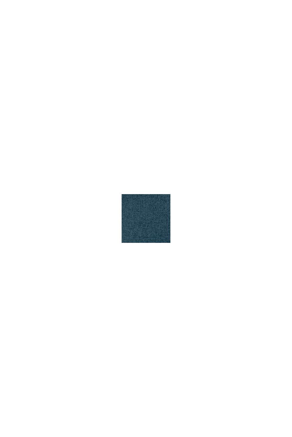 Poszewka na poduszkę z różnych materiałów z mikroaksamitu, PETROL, swatch