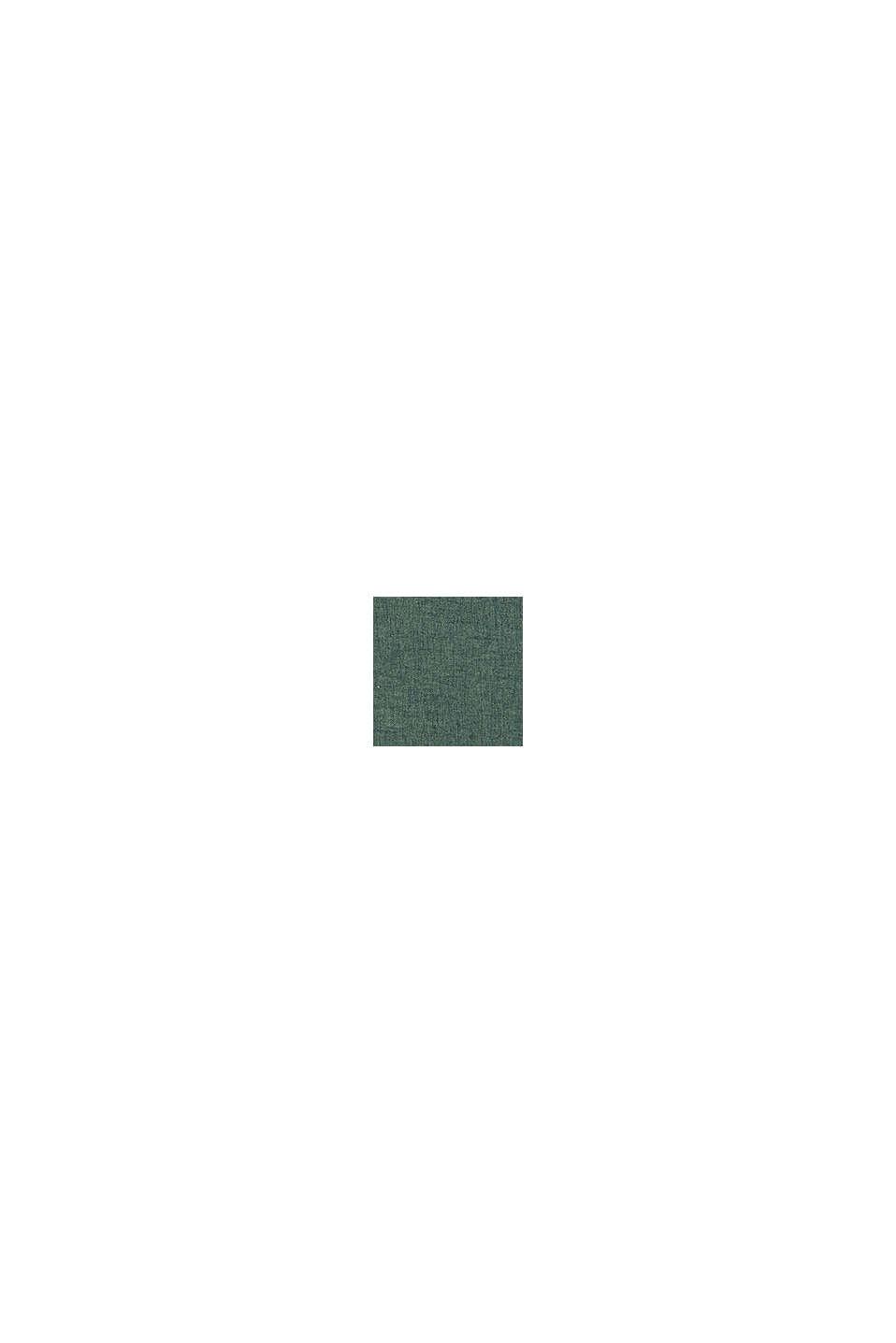 Poszewka na poduszkę z różnych materiałów z mikroaksamitu, DARK GREEN, swatch