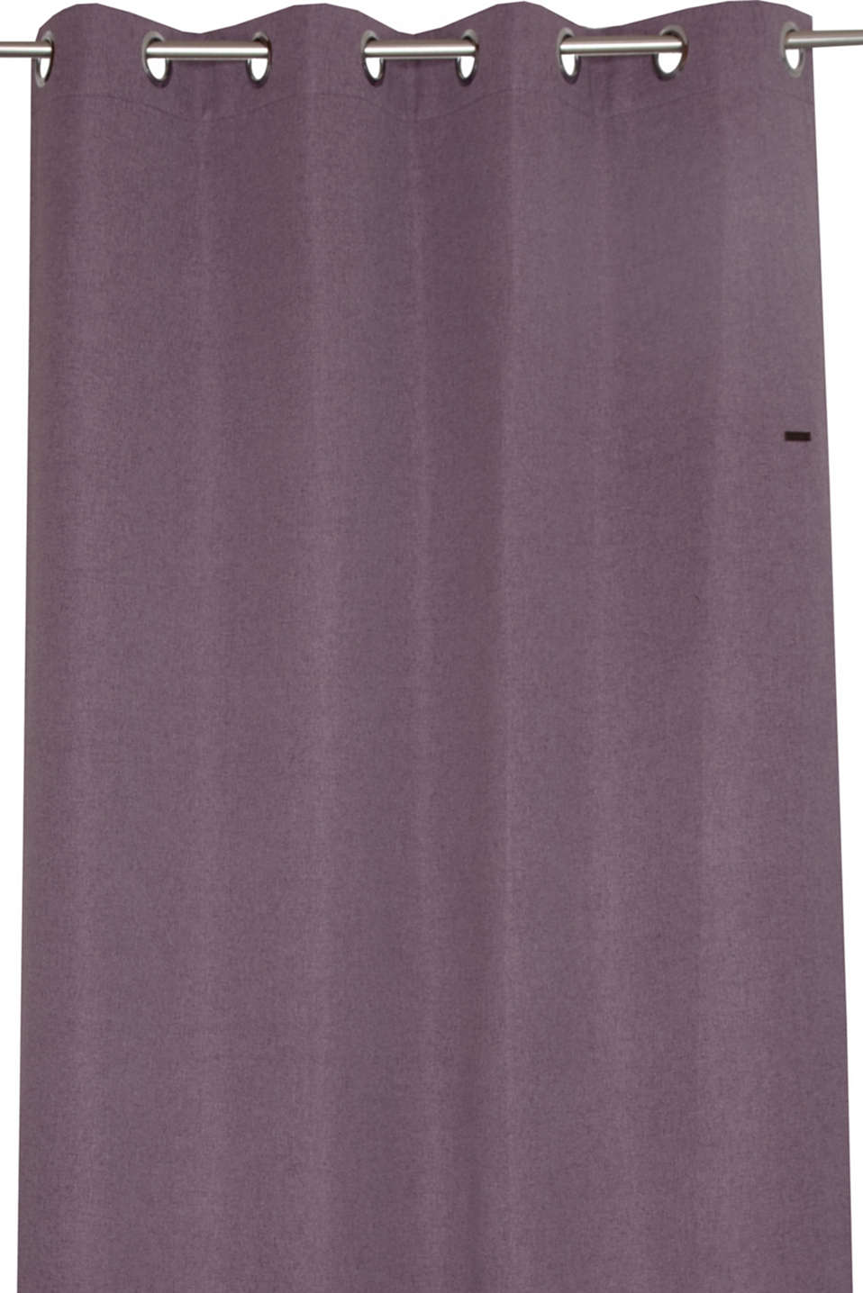 Eyelet curtain with a woven design, LILAC, detail image number 0