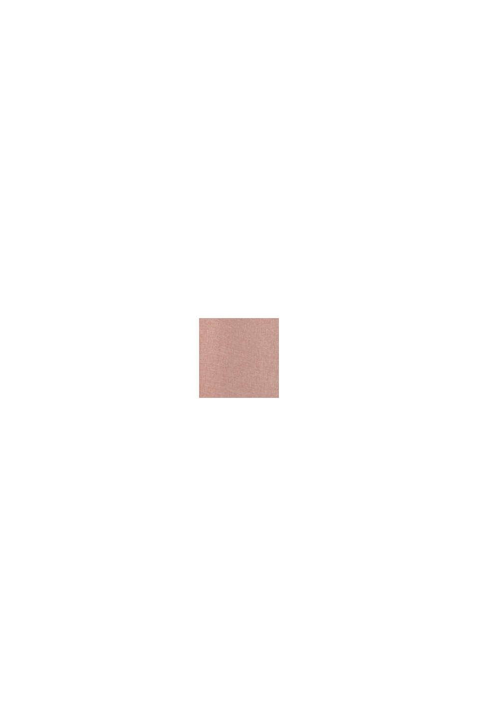 Závěs s kroužky z tkané látky, ROSE, swatch