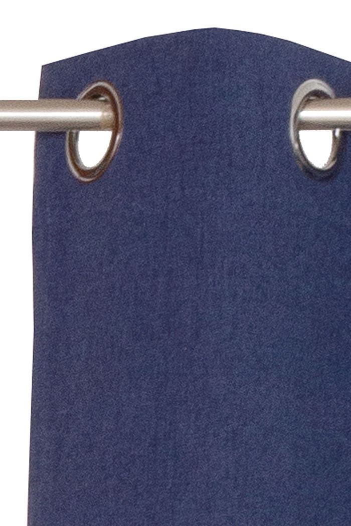Curtain made of woven fabric, NAVY, detail image number 1