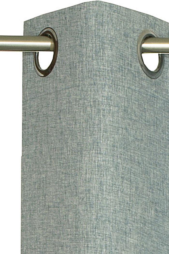 Rideau à œillets en tissu, BREEZE, detail image number 1