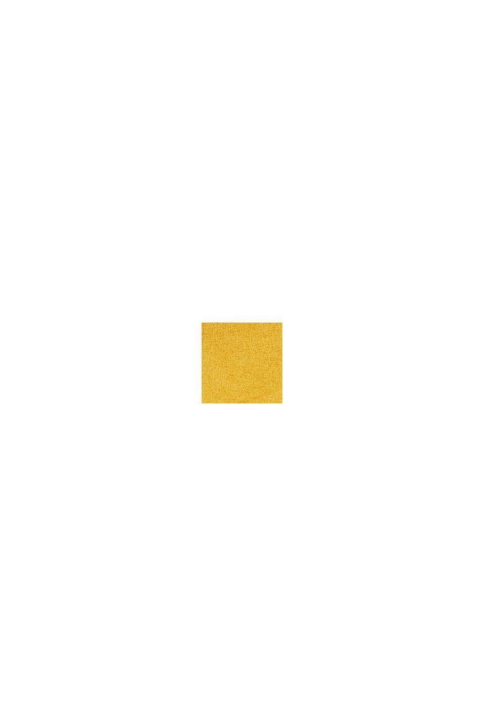Chemin de table en tissu chiné, MUSTARD, swatch