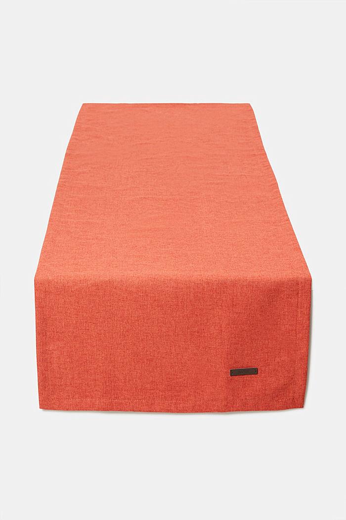 Chemin de table en tissu chiné