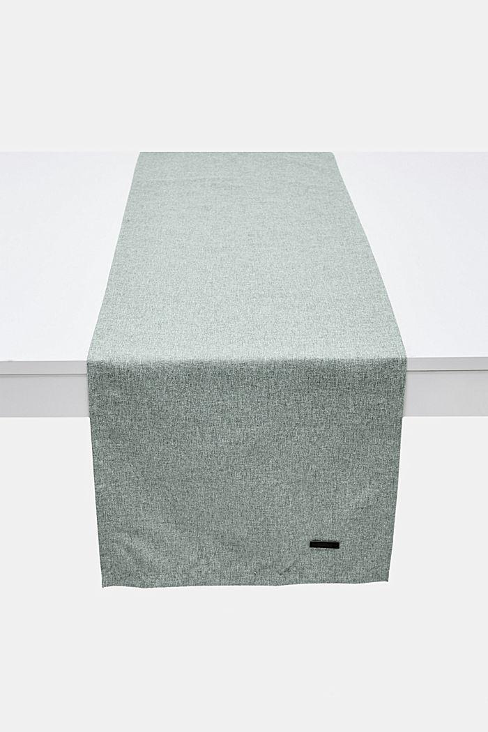 Tischläufer aus meliertem Webstoff, BREEZE, detail image number 0