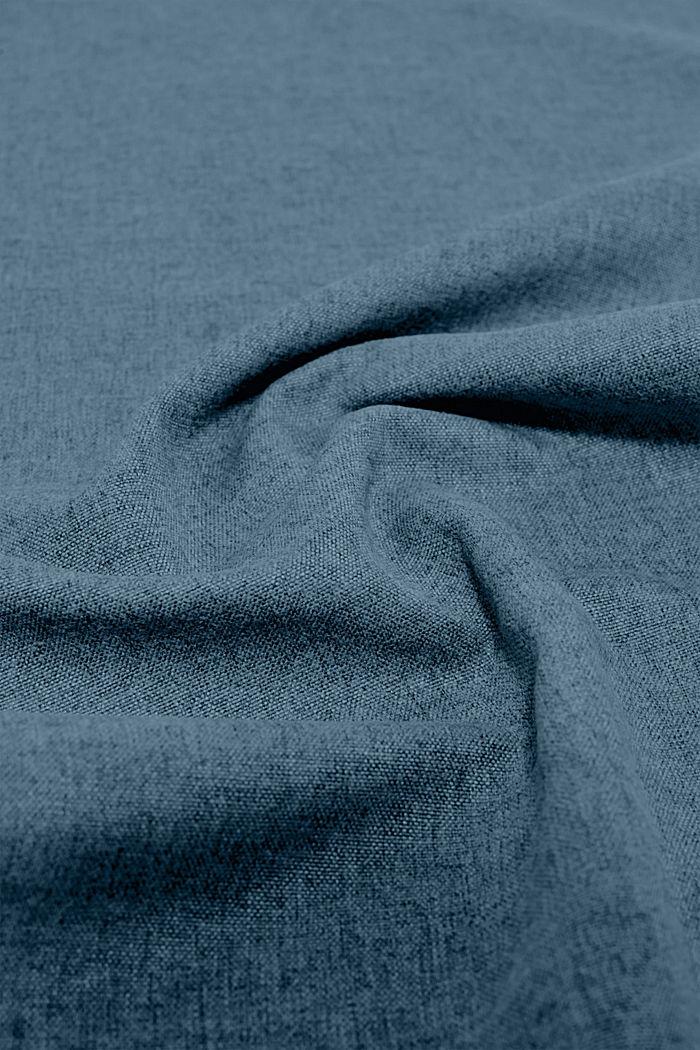Kaitaliina meleerattua kangasta, PETROL, detail image number 2
