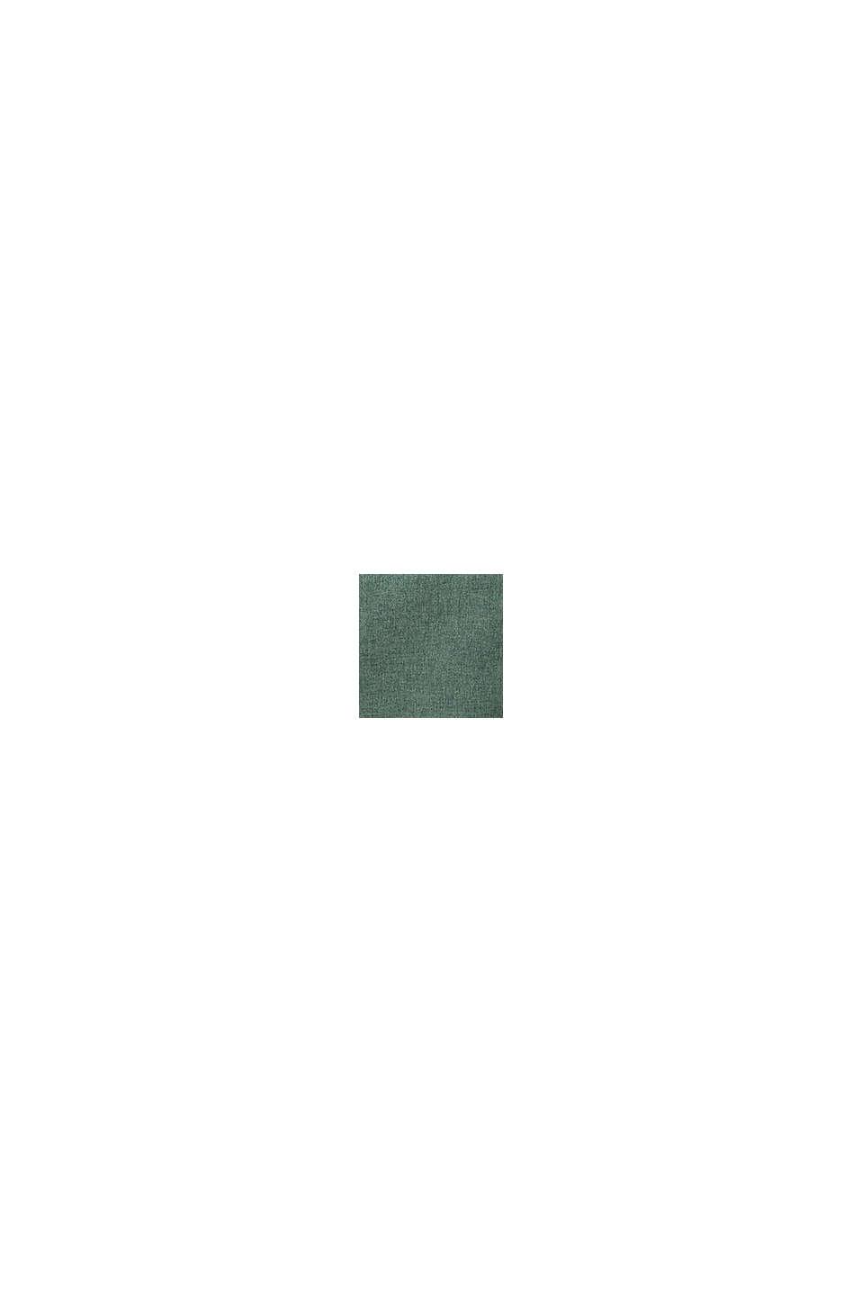 Chemin de table en tissu chiné, DARK GREEN, swatch