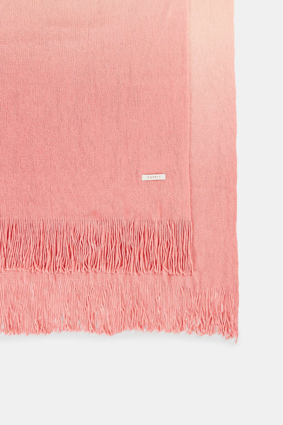 Esprit - Cosy throw with colour graduation