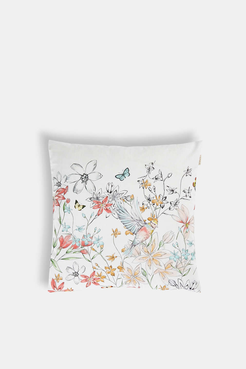 Esprit - Cushion cover with digital floral print